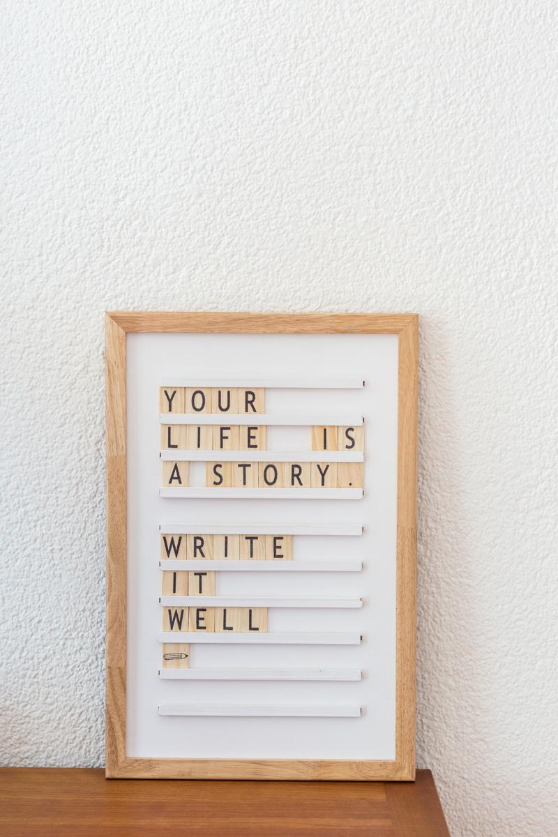 Oldschool Letterboard White-5