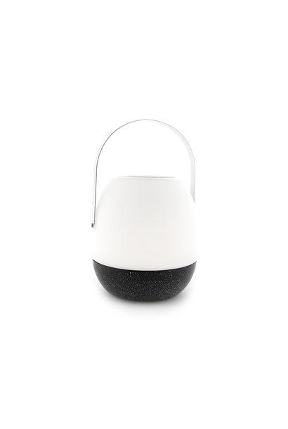 Outdoor Table Lamp Pine + Speaker Black