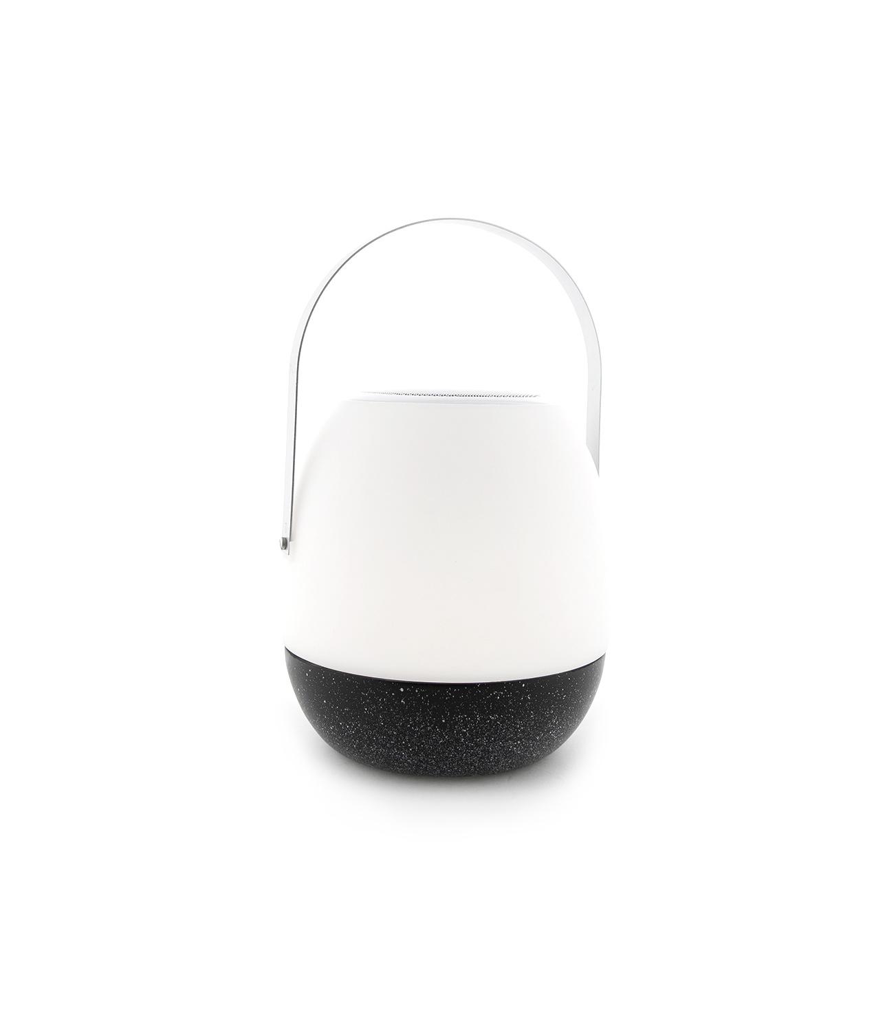 Tischlampe im Freien Pine + Lautsprecher Schwarz-1