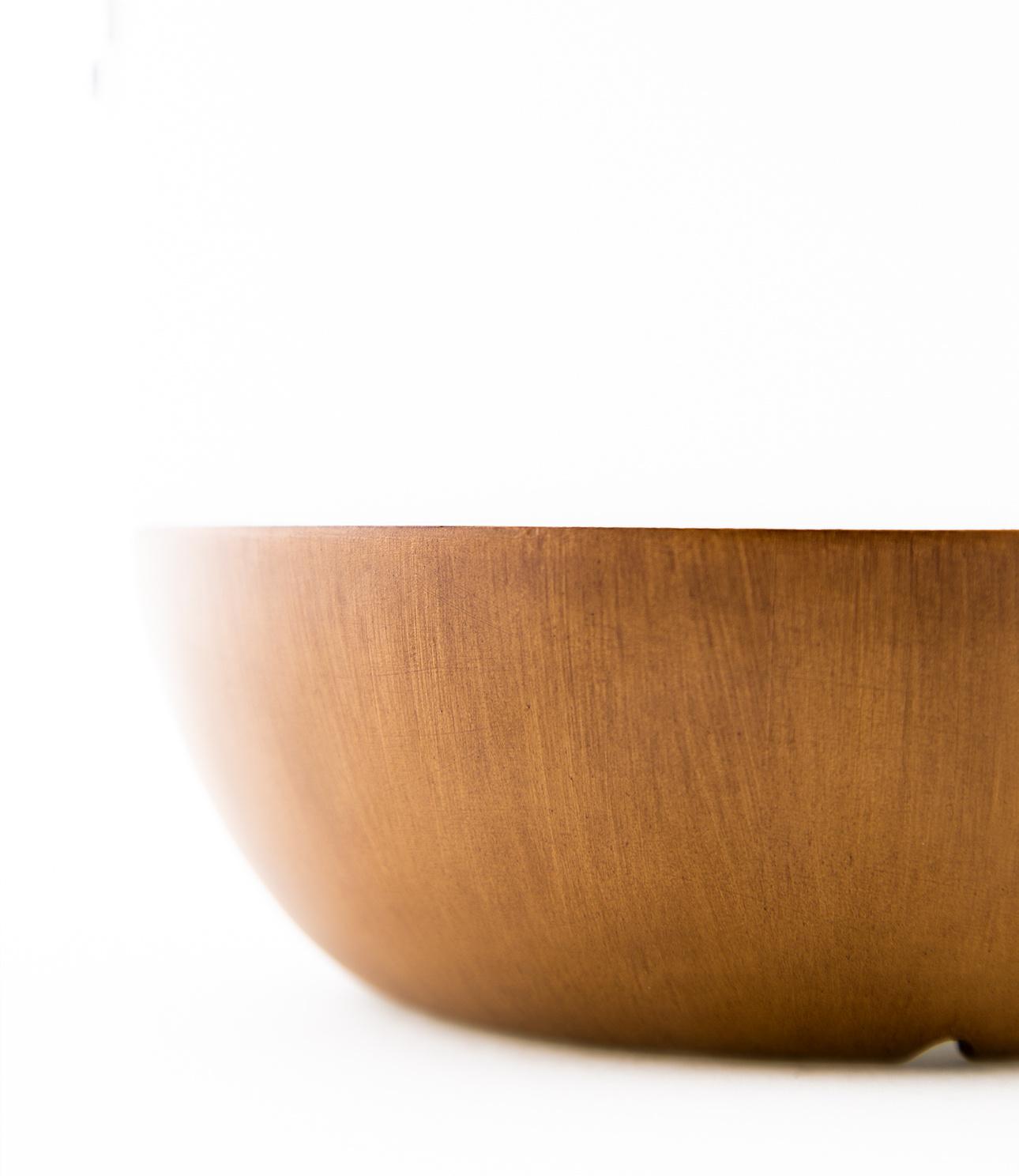 Tischlampe im Freien Pine + Lautsprecher Walnuss-9