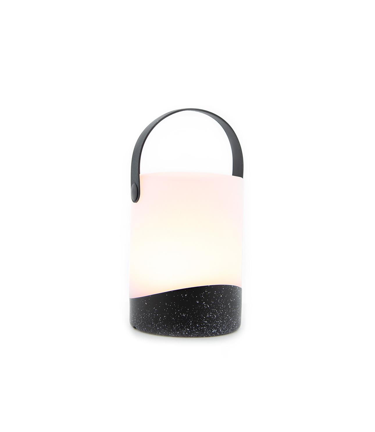 Tischlampe im Freien Mabe Schwarz-6