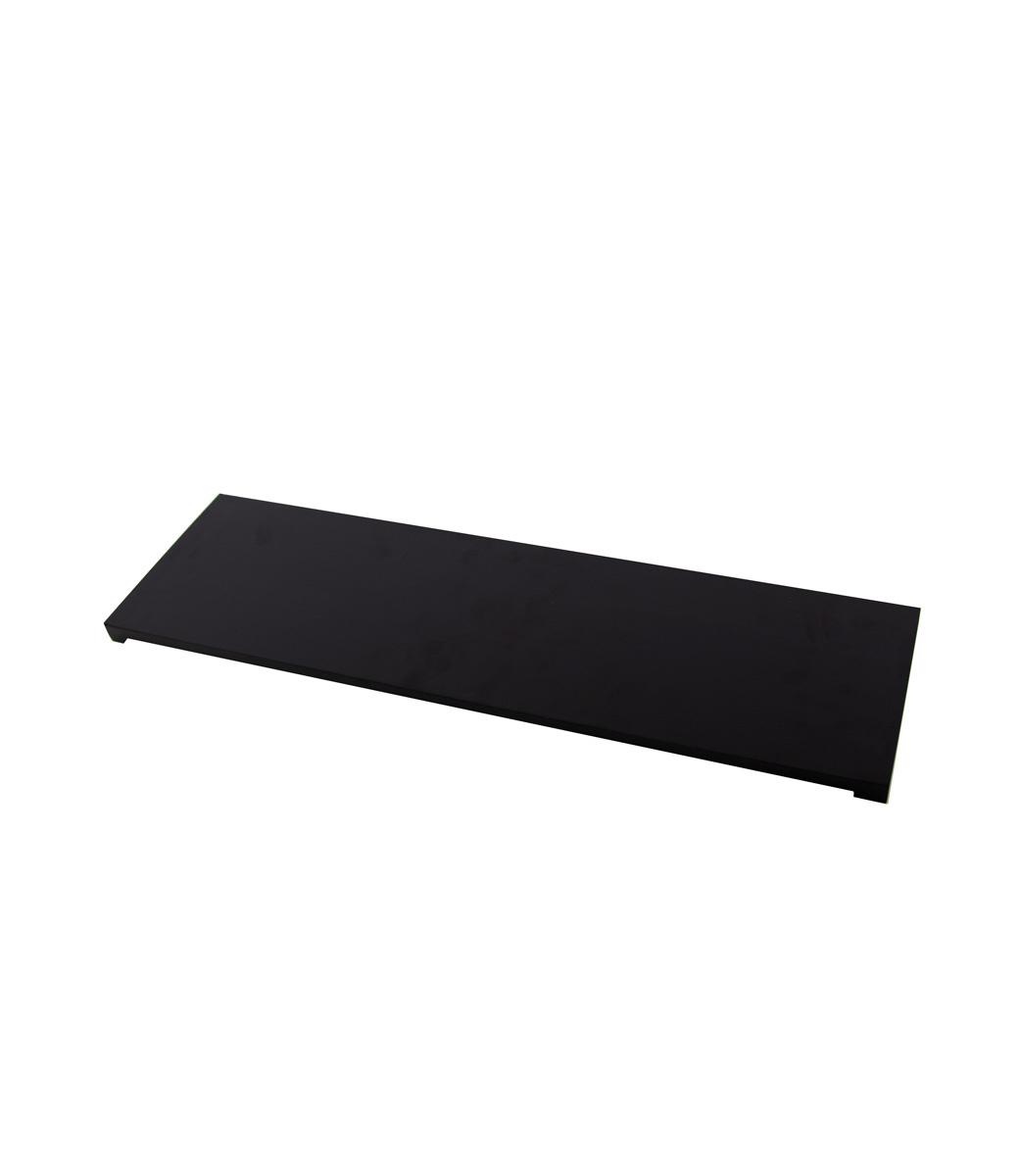 Wooden shelf - Black-2