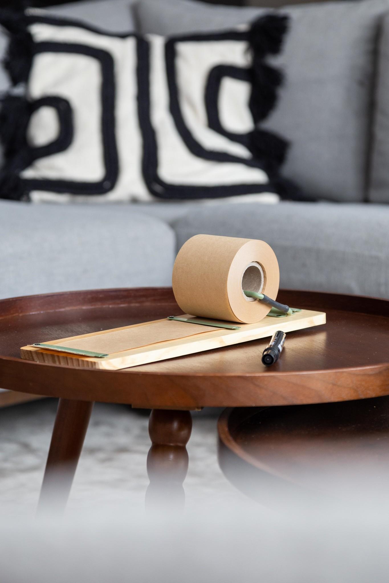 Kraft Paper Roller S - Green-3