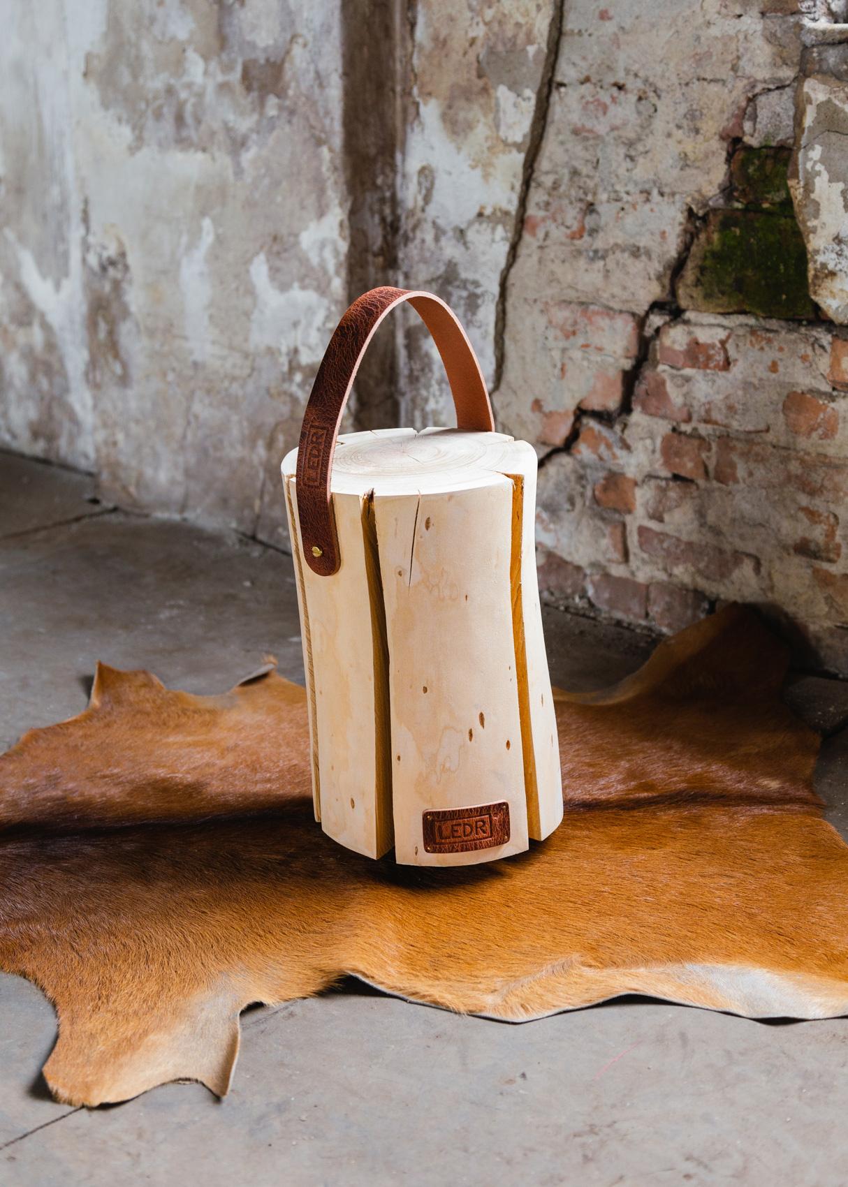 Wood Light - Cherry Wood M || Leather edition-4