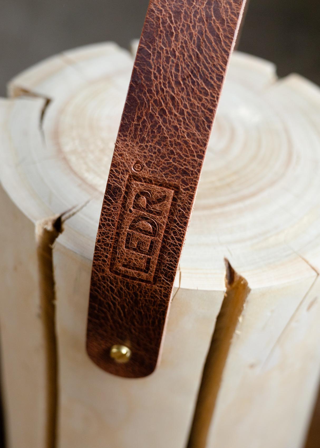 Wood Light - Cherry Wood M || Leather edition-6