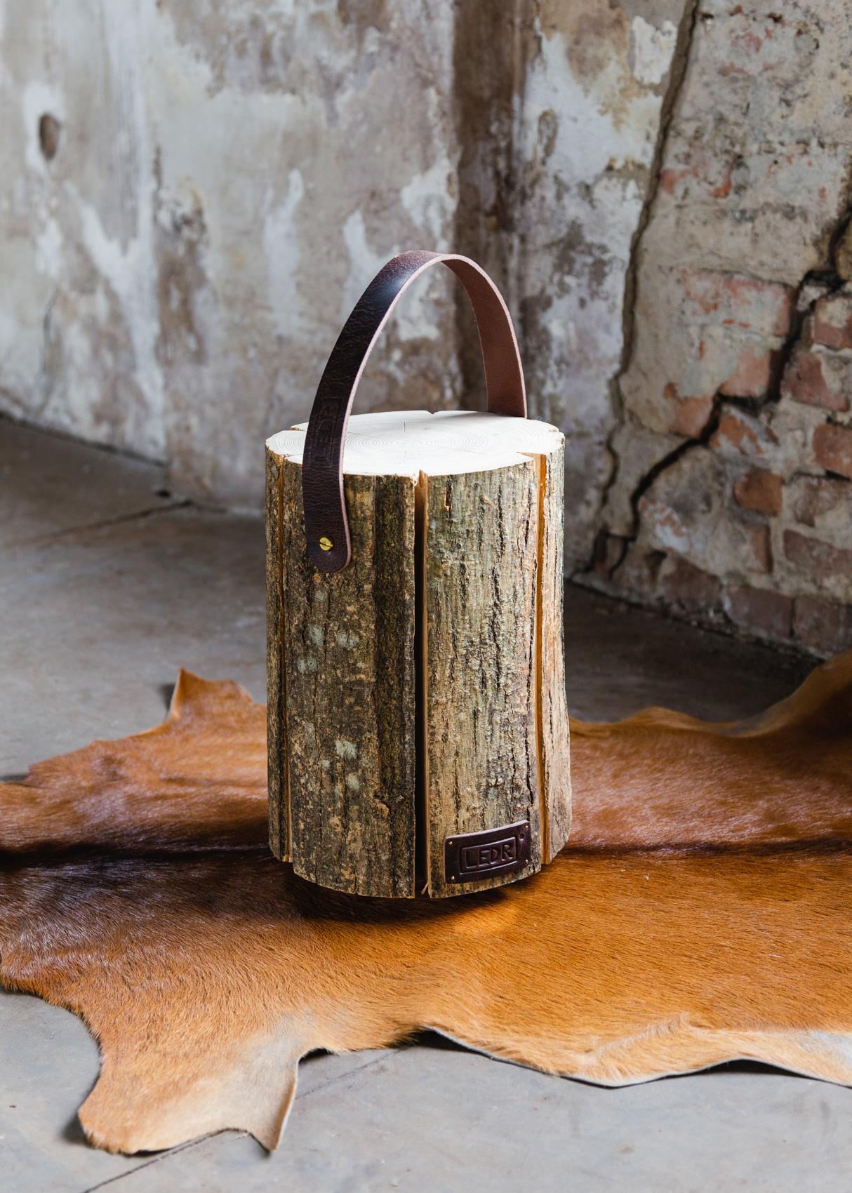 Wood Light - Ash Wood M || Leather edition-3