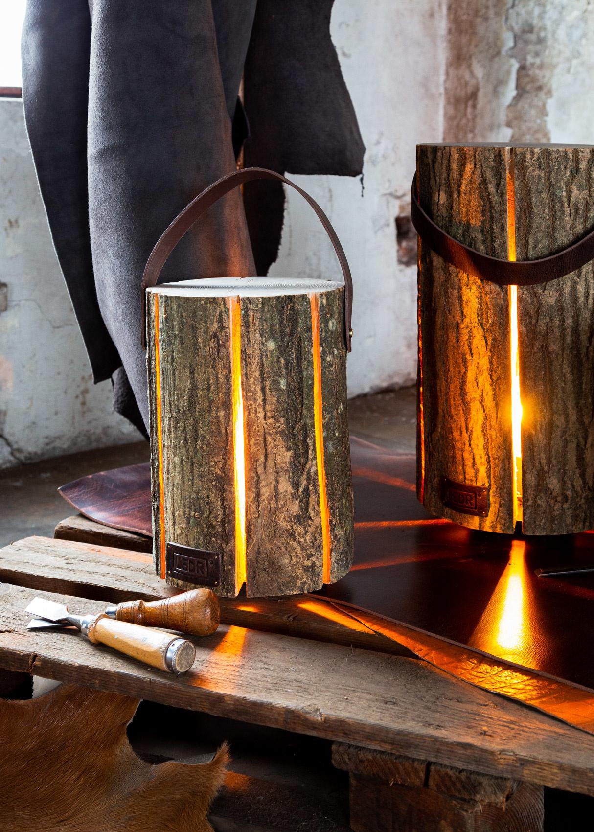 Wood Light - Ash Wood M || Leather edition-5