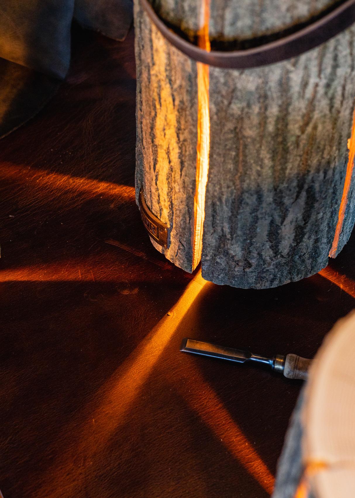 Wood Light - Ash Wood M || Leather edition-7