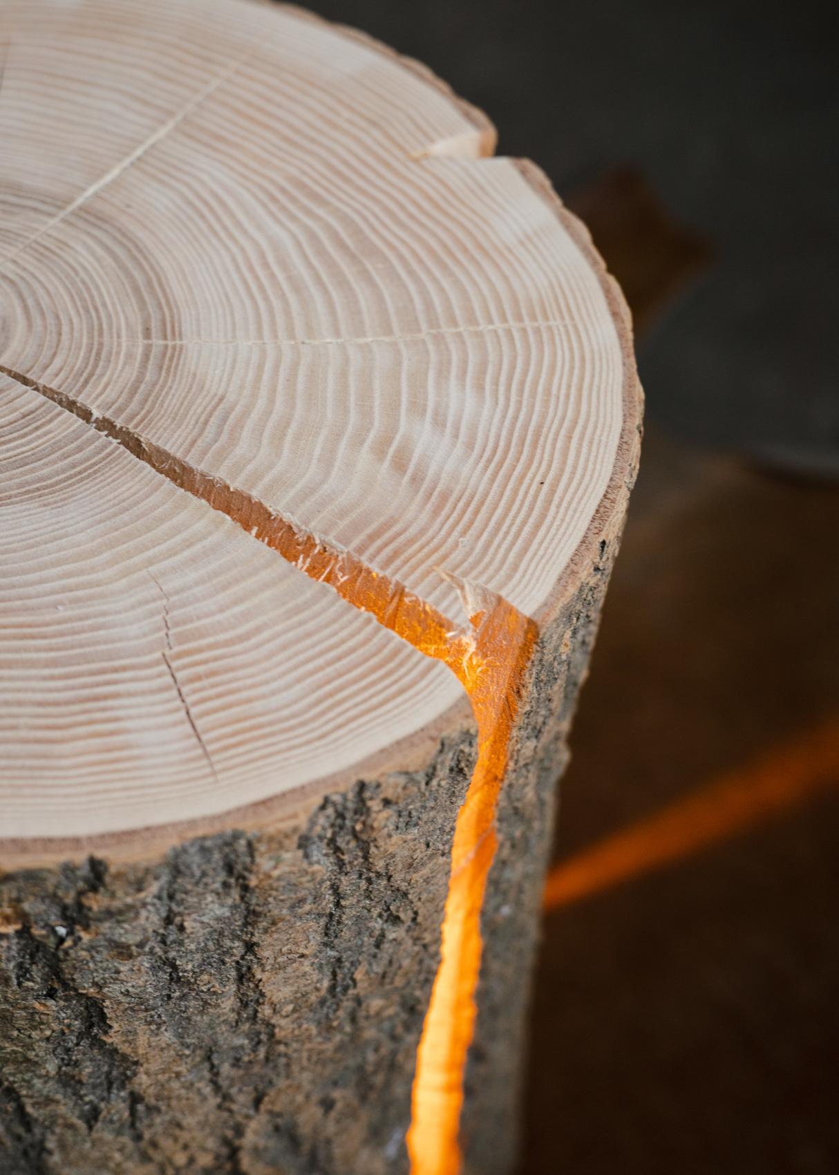Wood Light - Ash Wood M-7
