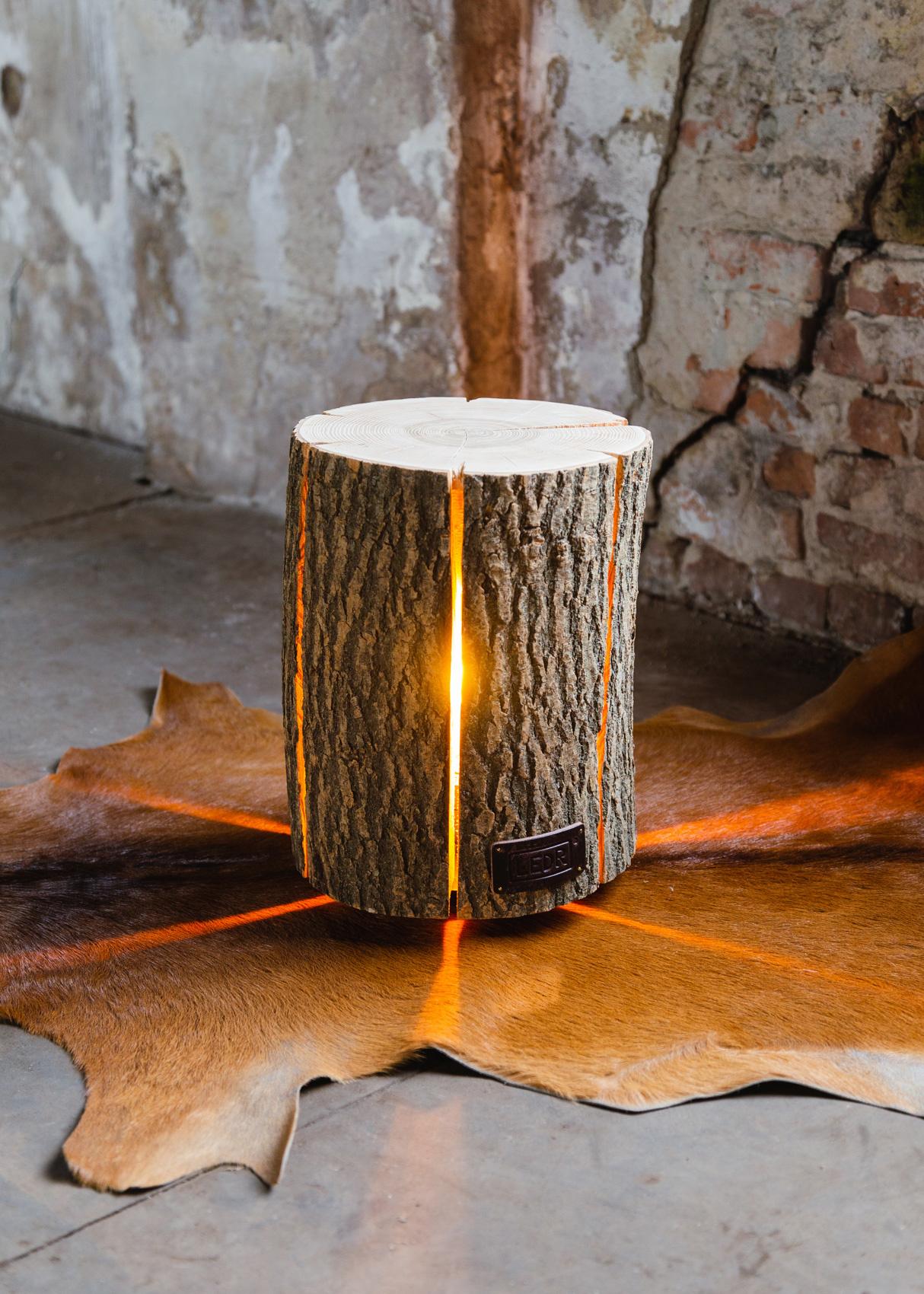 Wood Light - Ash Wood M-2