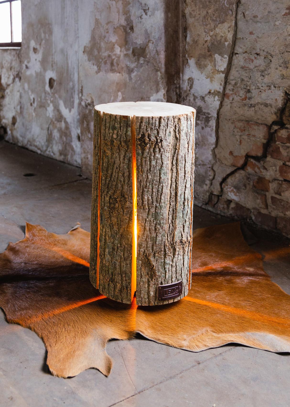 Wood Light - Ash Wood L-2