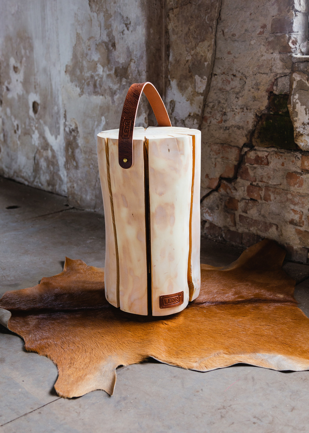 Wood Light - Cherry Wood L || Leather edition-3