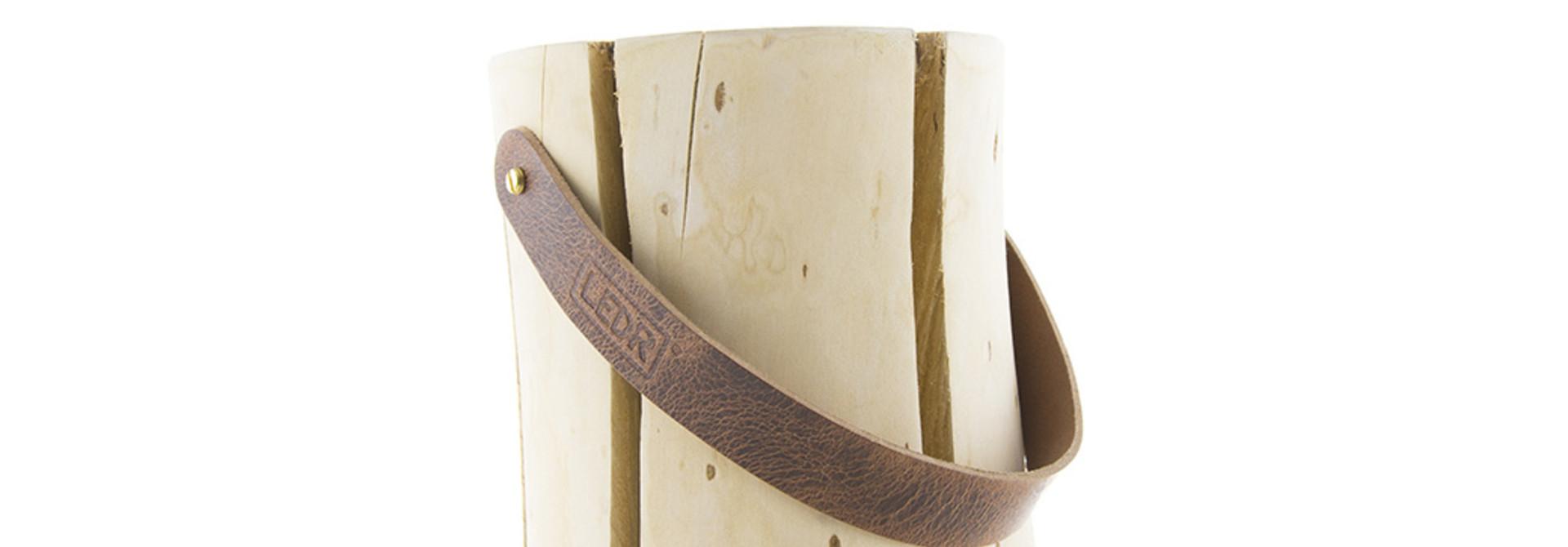 Wood Light - Cherry Wood M || Leather edition