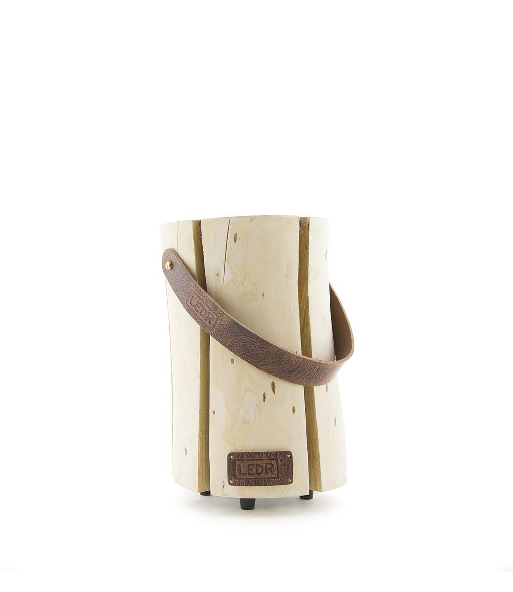 Wood Light - Cherry Wood M || Leather edition-1