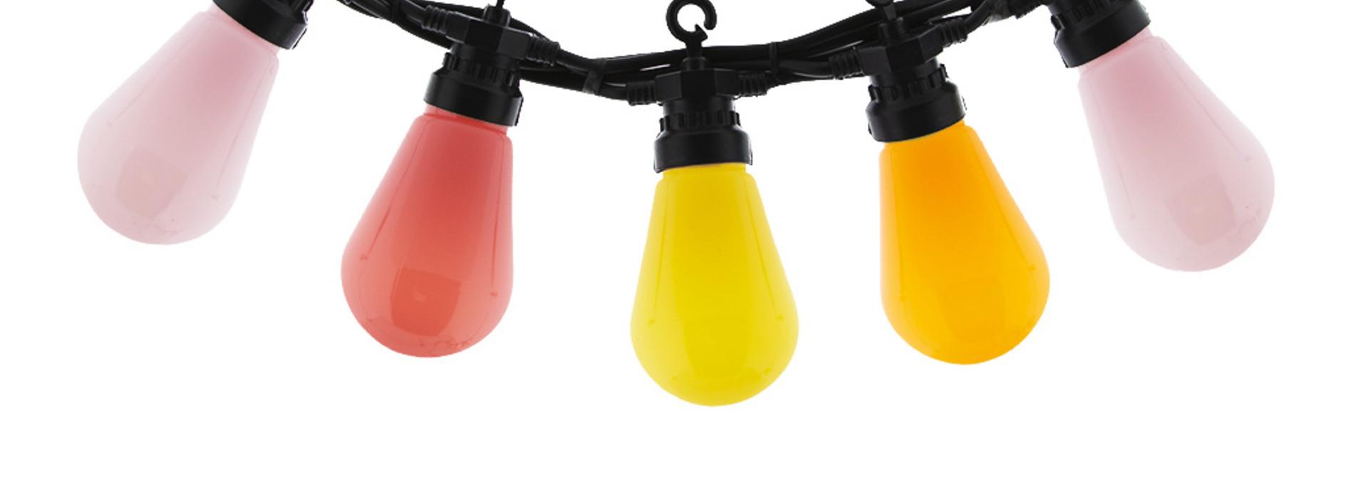 Regular Edison Bulbs Patio Lichterkette - Ice Cream