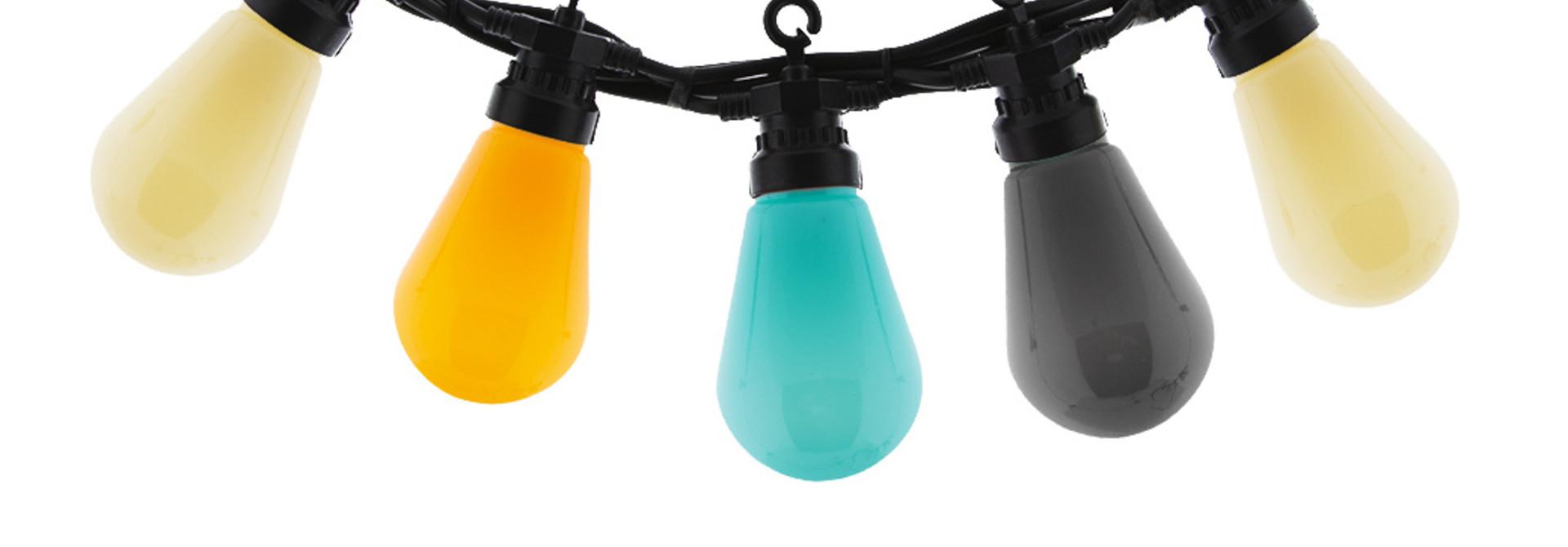 Regular Patio Lights Edison Bulbs - Beach