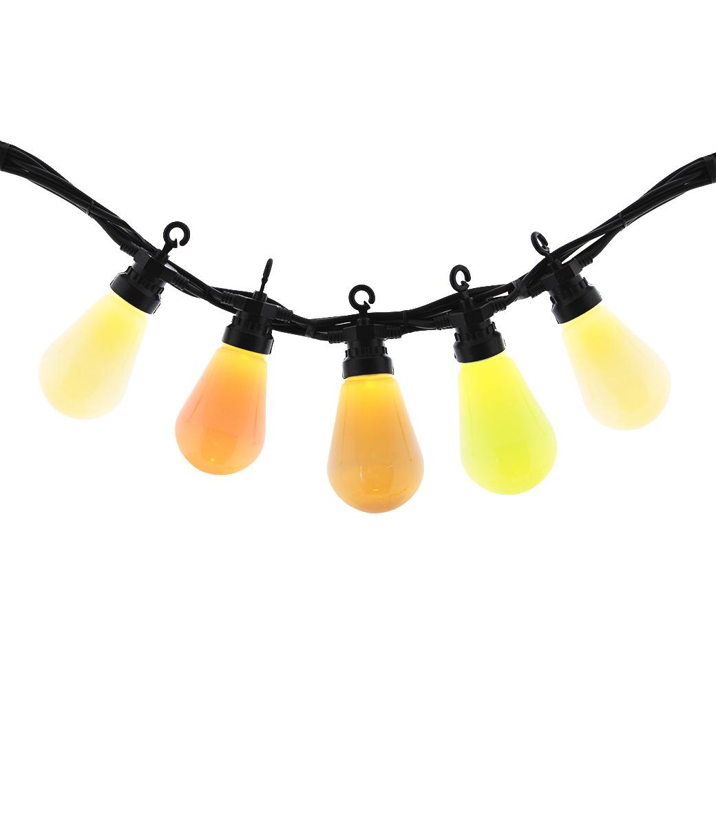Regular Edison Bulbs Patio Lichterkette - Brink Pink-2