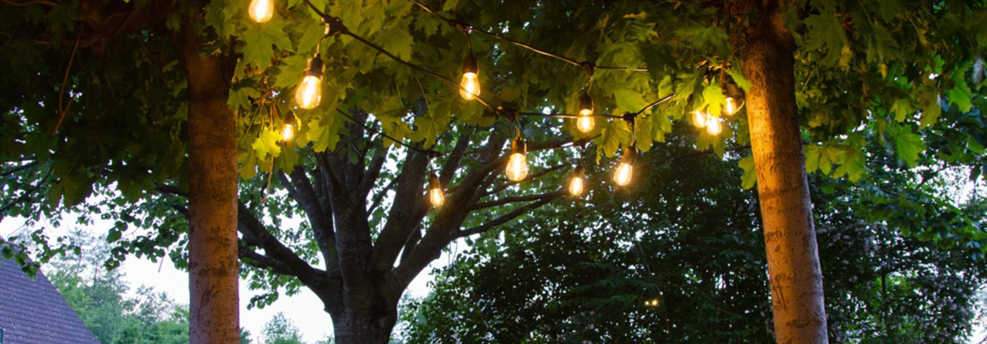 Sommernachtstraum mit unserer Außenbeleuchtung