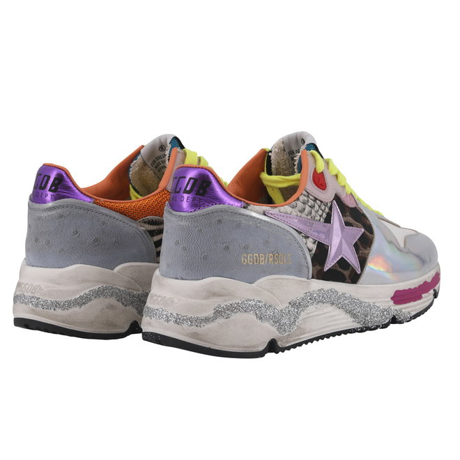 GOLDEN GOOSE SNEAKERS RUNNING SOLE VIOLET
