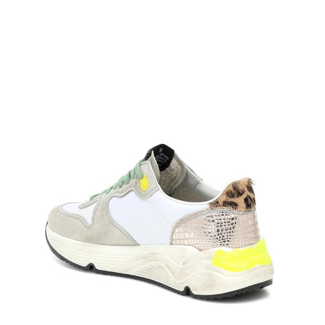 GOLDEN GOOSE RUNNING SOLE ICE SUEDE