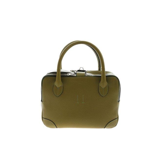 GOLDEN GOOSE QUIPAGE BAG OLIVE
