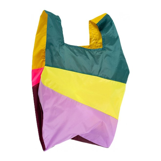 SHOPPING BAG PARTY FLUO PINK, M