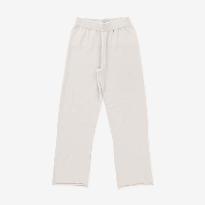 EXTREME CASHMERE N°104 TROUSERS · CREAM