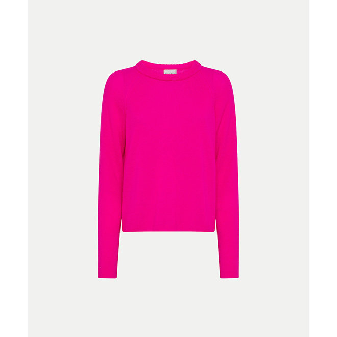FORTE_FORTE MY KNIT FUCSIA
