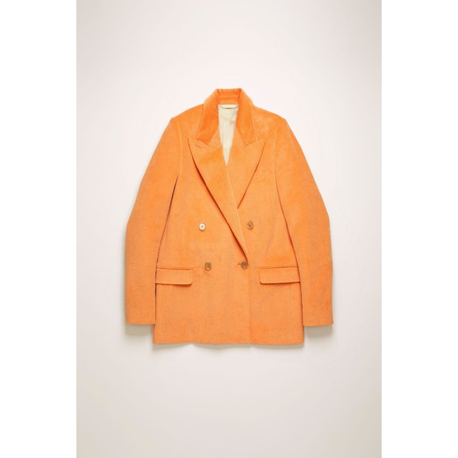 ACNE STUDIOS CORDUROY JACKET PEACH ORANGE