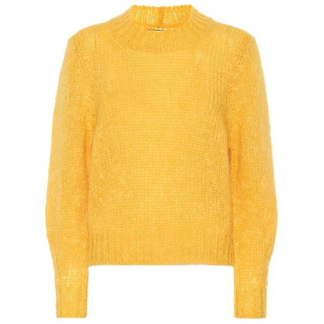 ISABEL MARANT PULL IVAH YELLOW
