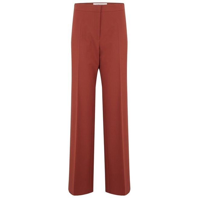 GOLDEN GOOSE PANTALON AMALIA RUST