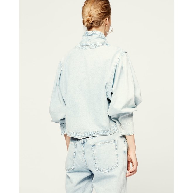 ISABEL MARANT PAULINE LIGHT BLUE