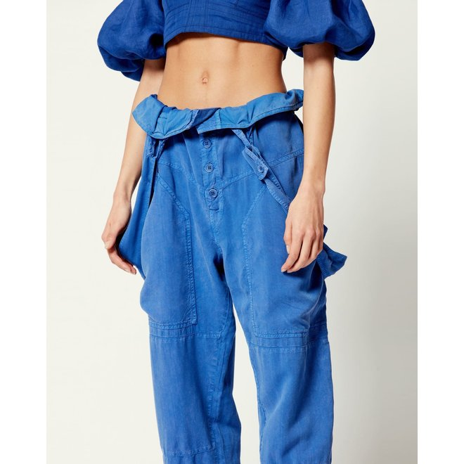 ISABEL MARANT FINEBA ELECTRIC BLUE