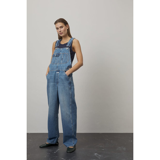 CLOSED DUNGAREE MID BLUE
