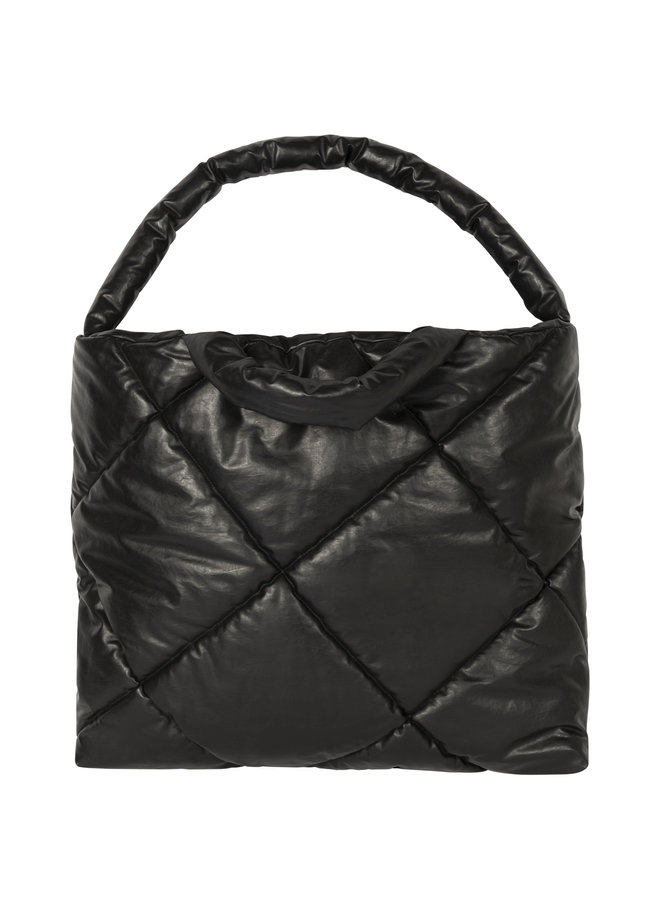 KASSL EDITIONS BAG LARGE OIL QUILTED BLACK