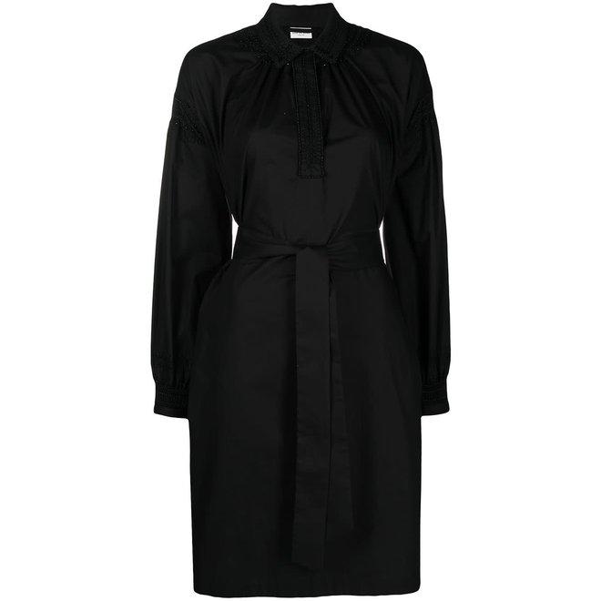 DRIES VAN NOTEN DARCY 2228 W.W.DRESS BLACK