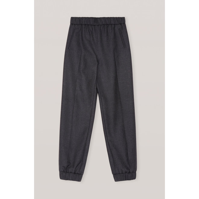 GANNI WOOL SUITING TROUSERS