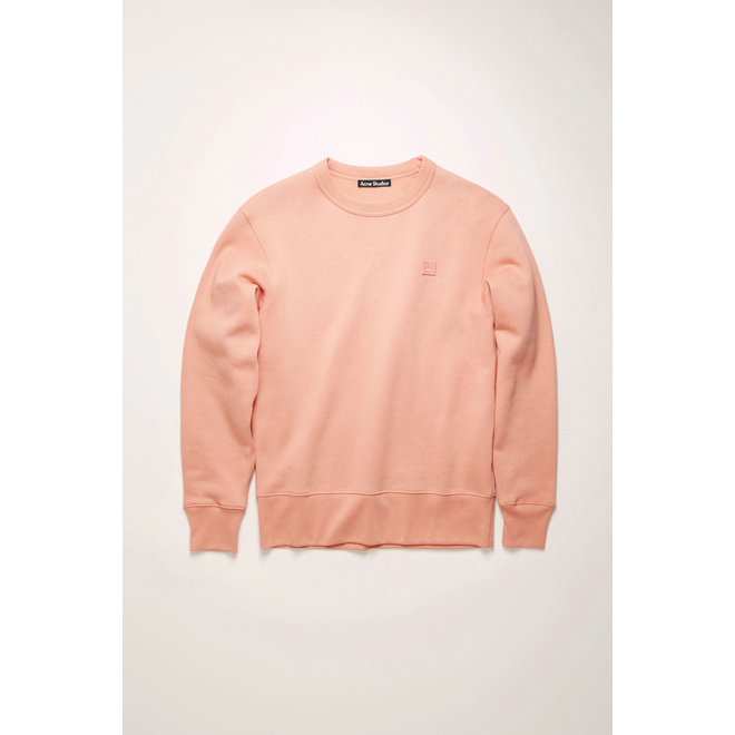 ACNE STUDIOS FAIRVIEW FACE PALE PINK SWEATER