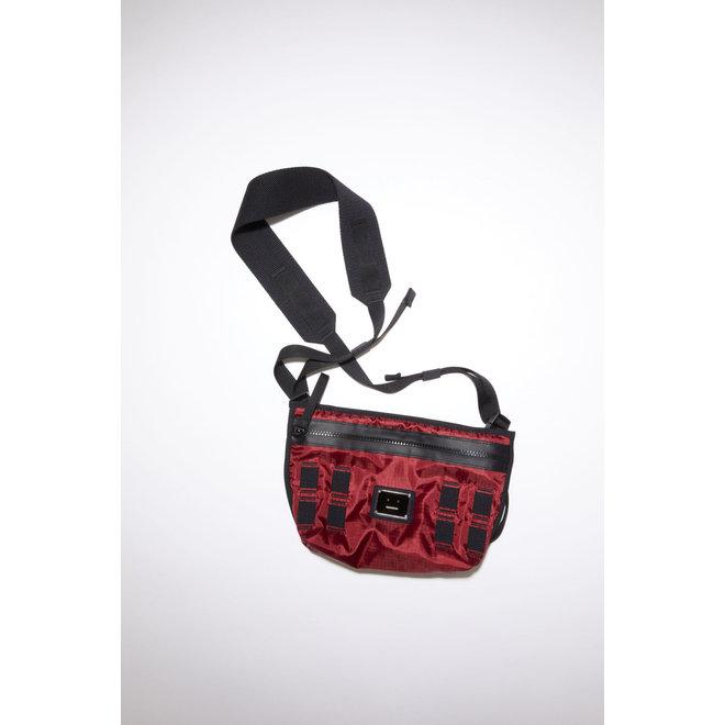 ACNE STUDIOS FA-UX-BAGS000016 BURGUNDY BAG BIG