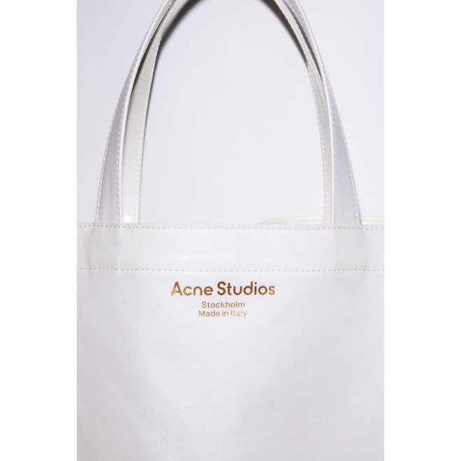 ACNE STUDIOS FN-UX-BAGS000054 WHITE SHOPPER BAG