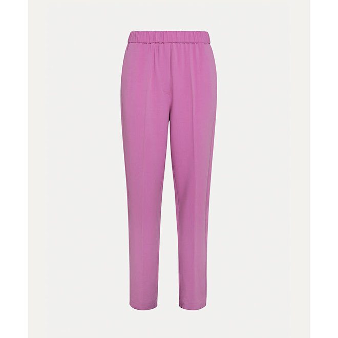 FORTE_FORTE WOOL VISCOSE DOUBLE CREPE TROUSERS ROSIE