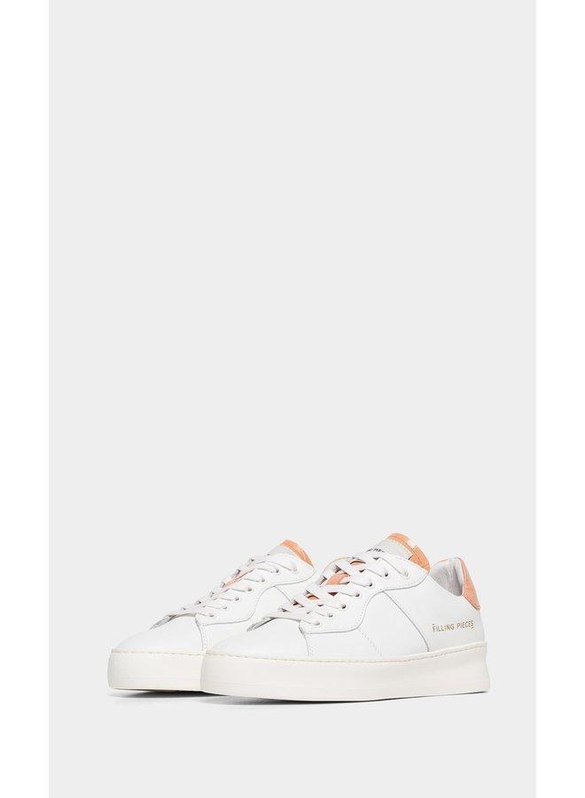 Low Plain Court Croc Peach