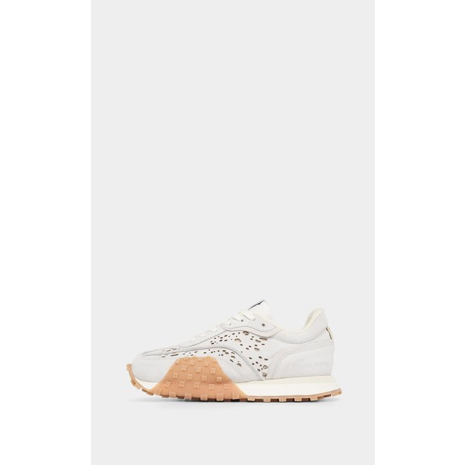 Crease Runner Wind All White