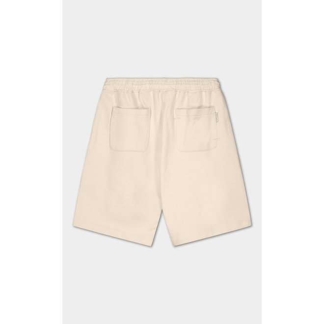 Essential Core Logo Sweat Shorts Eggshell