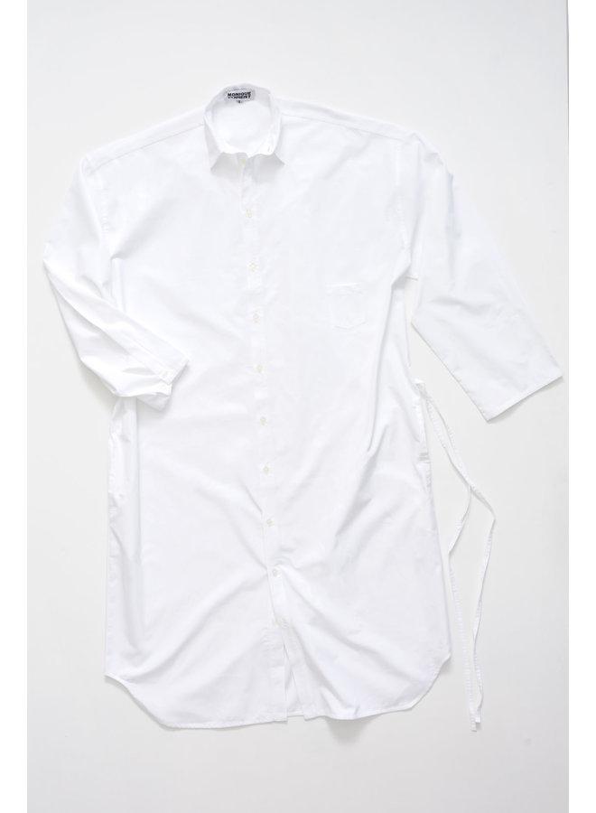 MONIQUE VAN HEIST 10.2 WHITE COTTON