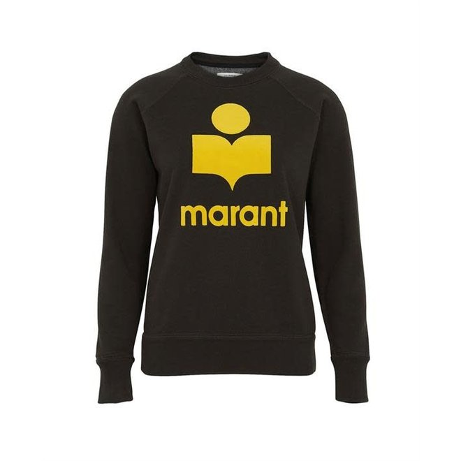 ISABEL MARANT ÉTOILE MILLY YELLOW / FADED BLACK