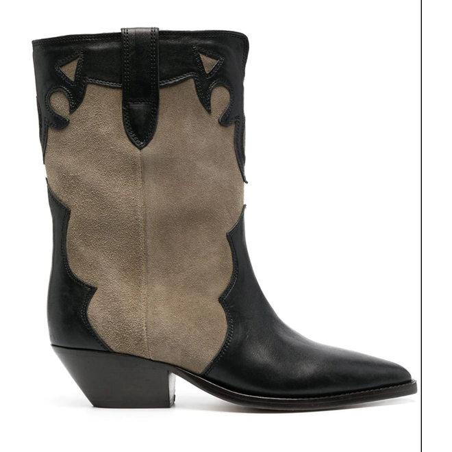 ISABEL MARANT DUONI TAUPE BOOTS