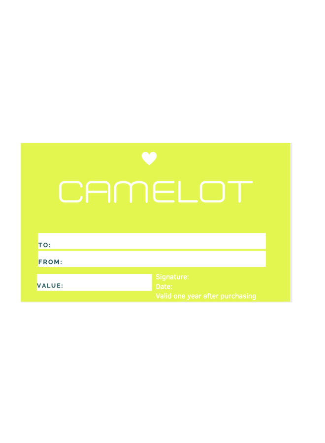 CAMELOT GIFTCARD €150