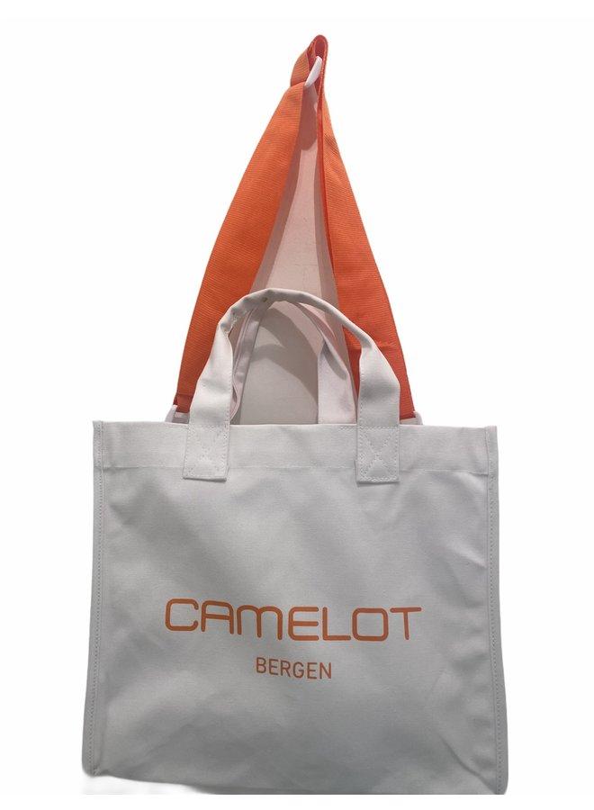 CANVAS CAMELOT SHOPPER