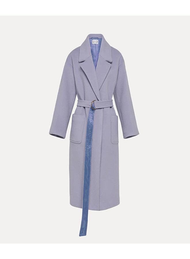 FORTE_FORTE OVERSIZED CLOTH COAT PIUMA